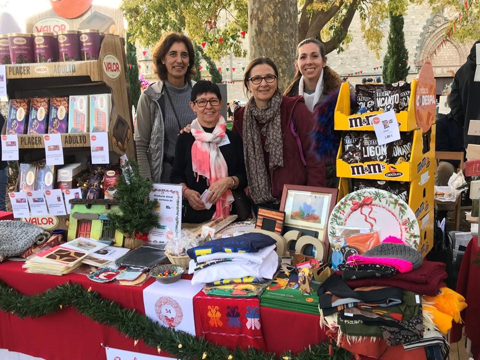 Stand Mercat de Nadal Pedralbes 2019